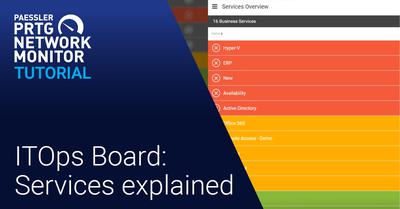 Video: ITOps Board: Services explained (Videos, ITOps Board, PRTG Enterprise Monitor)