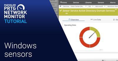 Video: Windows sensors in PRTG (Videos, Sensors)