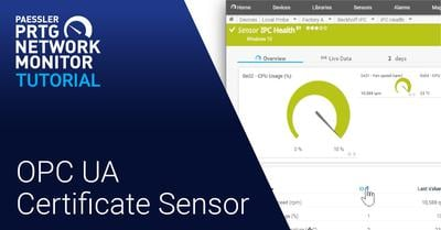 Video: OPC UA Certificate sensor (Videos, Industries, IoT, Sensors)