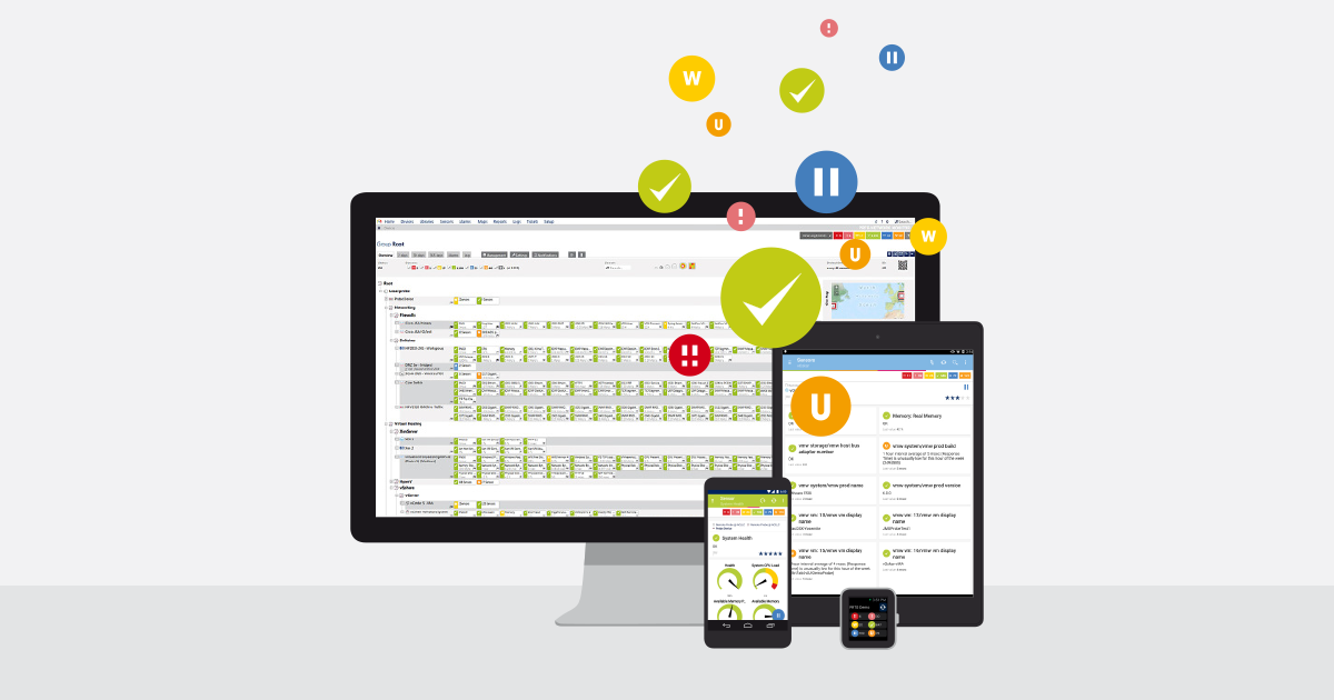 PRTG Network Monitor » All-In-One Network Monitoring Software