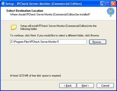 Installing IPCheck Server Monitor